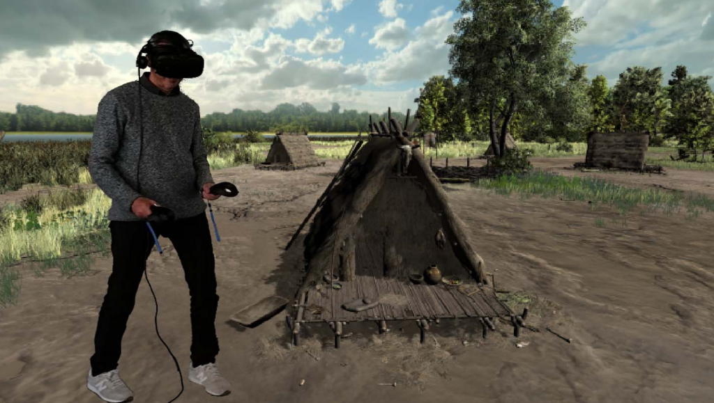 Draga realitat virtual per web
